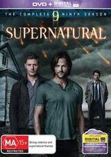 Supernatural : Season 9 (DVD, 6-Disc Set) New, Unsealed Region 4 (D258/D228)