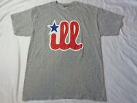 Vintage PHILADELPHIA Philly Phillies ILL t-shirt Gilden Men's Large L