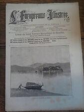 L'européenne illustrée journal international de la famille 23 septembre 1888