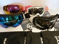 OutdoorMaster OTG Ski Goggles - Over Glasses Ski / Snowboard Goggles