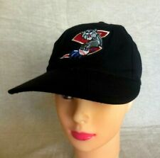 CA Sacramento River Cats Baseball Cap Hat Black Color Embroided Adjustable