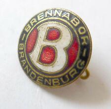 Anstecknadel uralt emailliert --Brennabor Brandenburg--