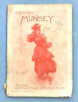 """March 1895 MUNSEY'S MAGAZINE - """"Of the People and For the People"""" - Many Ads"""