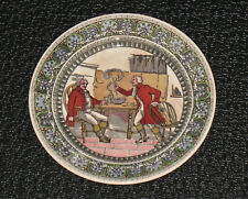 """Royal Doulton Antique Collector 10.5"""" Plate-Tavern Scene-D2785-Dated 1907"""