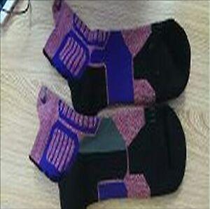 Nike Dry Hyper Elite Cushioned Crew Basketball Dri-Fit Socks Multicolor Purple