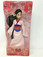 """Disney Store Princess Mulan Classic Doll 12"""" NIB"""