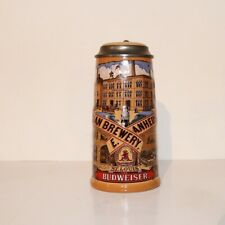 1990 Budweiser Beer Stein - Classic Collection Brewery 1890's Germnay