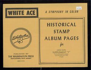 1970 Blanc As États-unis Commémorative Singles Tampon Album Suppléments