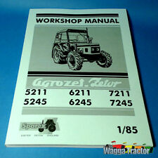 WSM8920 Workshop Manual Zetor 5211 5245 6211 6245 7211 7245 Tractor - Repair Svc