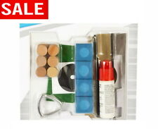 Pool Table Repair Kit Deluxe Cue Tip Billiard Stick Service Repair Accessories
