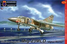 "MiG-23 MLD FLOGGER G ""AFGHAN WARRIOR"" (SOVIET AF MKGS) 1/72 KOVOZAVODY / KP"