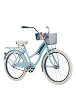 "Huffy 24"" Nel Lusso Girls' Cruiser Bike, Blue"