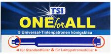 4x Tintenpatronen Universal 5er Pack königsblau