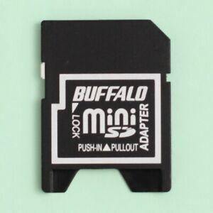 Genuine Buffalo Mini SD (MiniSD) to SD Memory Card Adapter