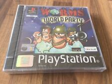 PS1:    WORMS WORLD PARTY     PAL EUR           NEUF/NEW!!!