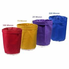 4 X Filtration 5 Gal (environ 18.93 L) Bubble Ice Bag Vin extraction à base de plantes Press Mat Kit 20 L