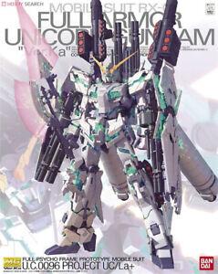 Bandai Gundam MG RX-0 Full Armor Unicorn Ver.Ka 1/100 Model Kit