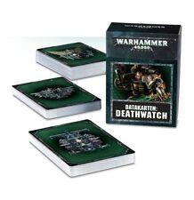DEATHWATCH datakarten (allemand) Games Workshop Warhammer 40k datacards 8th