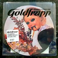 """Goldfrapp - Satin Chic / Boys Will Be Boys - New Unplayed 2006 7"""" Picture Disc"""