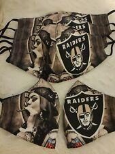Raiders Face Mask