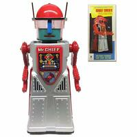 CHIEF SMOKY ROBOT ADVANCED ROBOT MYSTERY ACTION SMOKES & LIGHTS UP 2xD BATTERY