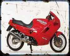 Ducati 907 Ie 4 A4 Metal Sign Motorbike Vintage Aged