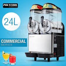 PolyCool 24l Commercial Slushie Machine Granita Slush Maker Slurpee Slushy Juice