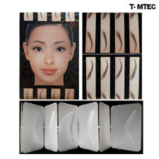 Eyebrow Shapes Template Stencil Design Style 21 Brows Microblading Marking Brow