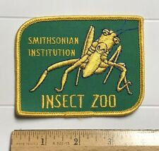 Smithsonian Institution Insect Zoo Praying Mantis Bug Souvenir Embroidered Patch