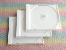 JEWEL CASES standard size 3 pieces set (with WHITE Tray) Product of Japan