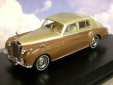 OXFORD 1/43 RR ROLLS ROYCE SILVER CLOUD I 1 SAND & SABLE (GOLD & BROWN) 43RSC001