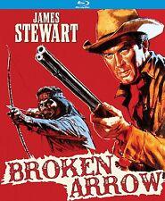 PRE  ORDER: BROKEN ARROW (James Stewart) - BLU RAY - Region A