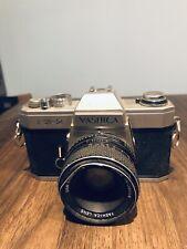 Yashica Fx-2 35mm Slr Vintage Camera