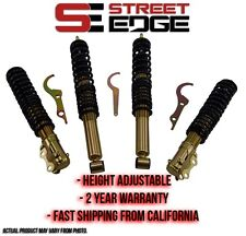 Street Edge Coilover Kit 74-84 VW Golf I/Rabbit/Cabrio Coilovers Volkswagen MK1