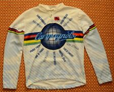 Campagnolo, Mens long sleeve Bike jersey by Giordana, Size Large - XL