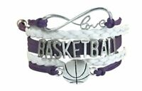 Basketball Bracelet - Basketball Jewelry For Girls - Perfect Basketball Gift