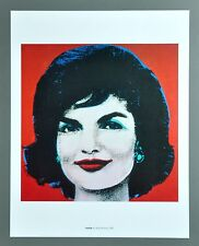 Andy Warhol Jackie Kennedy 1963 Offset Color Lithograph Farblithographie 34x43cm