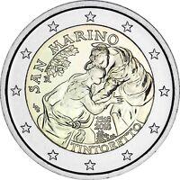 San Marino 2 Euro Münze 2018 Stgl 500 Geburtstag von Jacopo Tintoretto im Folder