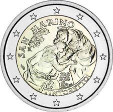 San Marino 2 Euro 2018 Jacopo Tintoretto Gedenkmünze Stempelglanz im Folder