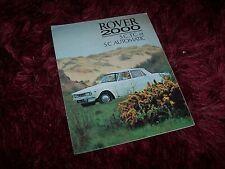 Prospectus /  Brochure  ROVER 2000 1966 //