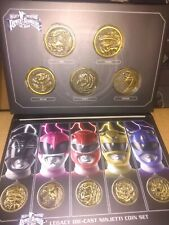 POWER RANGERS Mighty Morphin Movie  LEGACY  DIECAST Ninjetti COINS Unopened