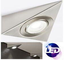 Knightsbridge 240V LED Triangular Kitchen Under Cabinet Cool White Spot Light