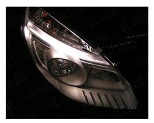 SCENIC 2 Veilleuses Feux de Position 2 Ampoules LED Blanc Jusqu'à 08/2006