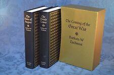 The Coming of the Great War - Barbara Tuchman 2 Vol Set - Folio Society 1995 (V)