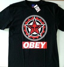 New Obey Giant shirt Black Medium camiseta propaganda street wear skate classic