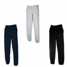 FRUIT OF THE LOOM JOG PANTS BOTTOMS S, M, L, XL, XXL