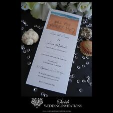 Will You Marry Me Beach Wedding or Engagement Invitations - Invite Samples