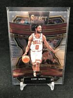 2019-20 Panini Select #48 Coby White CONCOURSE RC Rookie Card Chicago Bulls E95