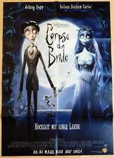 Tim Burton CORPSE BRIDE  original Mediatheken Plakat A1