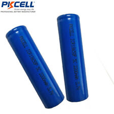 4x High Drain 5C 18650 Li-ion Rechargeable Batteries PKCELL 2200mAh Vape Battery